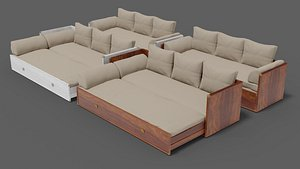 couch 3D model