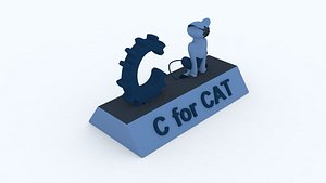 3D model cat c