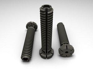 screw foot dishwasher 6033081 3D