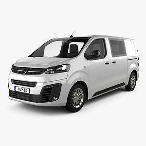 3D Opel Vivaro Crew Van L2 2019