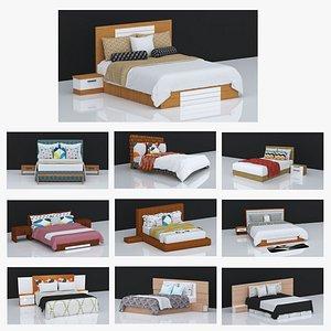 3D 10 BEDS VOLUME - 2