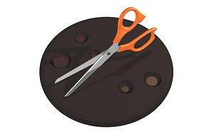 scissors 3D model