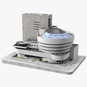 Museum Complex 3D model