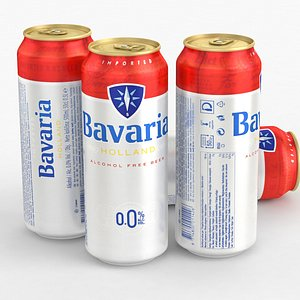 3D Beer Can Bavaria Holland Alcohol Free 500ml 2021