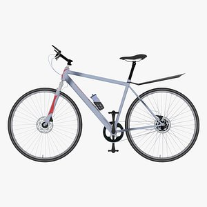 trendy sports bicycle 3D