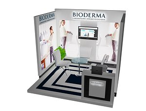 3D Booth Exhibition Stand  a478f model