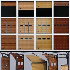gates garage warehouse 3D model