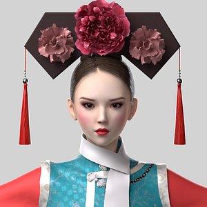 Princess of Qing Dynasty 3D model
