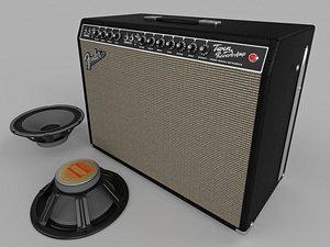 Fender 65 TWIN REVERB GUITAR COMBO model