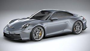 3D Porsche 911 GT3 Touring 2022 model