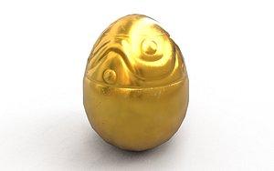 Golden Egg 3D model