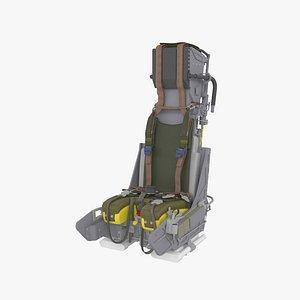 3D model Martin-Baker Mk.10 ejection seat