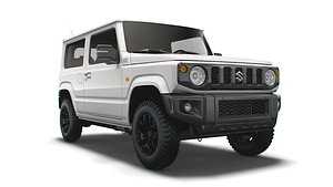 suzuki jimny xc long 3D model