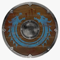 Blood-covered Shield