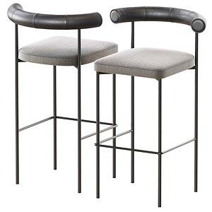 3D kashmir bar stool