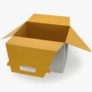 3D model Food Box Open 01
