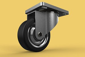 swivel caster wheel 3D model