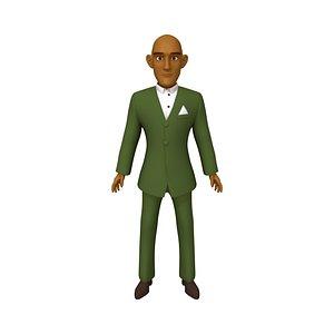 3D Man Cartoon 04
