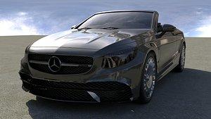 3D model car auto vehicle