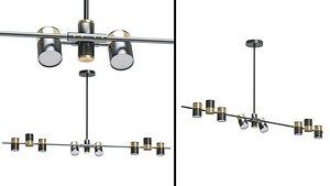 Chandelier Gittan Lampatron 7 3D model