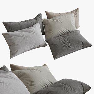 3D set pillows
