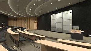 3D University Lecture Theatre