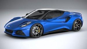 Lotus Emira 2023 3D