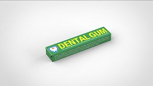 gum 3D model
