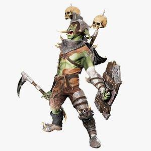 Goblin warrior 3D model