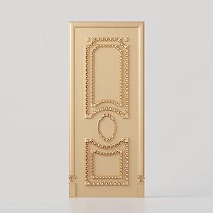 3D door interior design