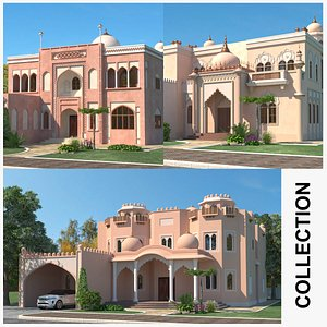 Indian House Collection model