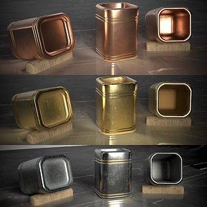 3D 13 mugs 3D. Minimalist style