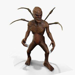Alien Sorcerer 3D