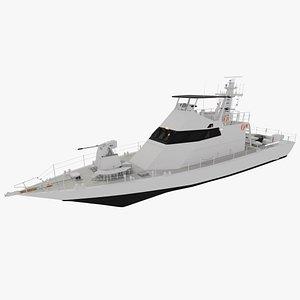 Shaldag Class MK II 3D model