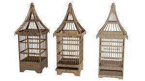 3D model bird-cage bird cage