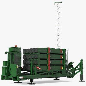 Iron Dome Air Defense Batteries 3D model
