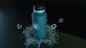 waterbottle 3D