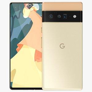 Google Pixel 6 Pro Gold model
