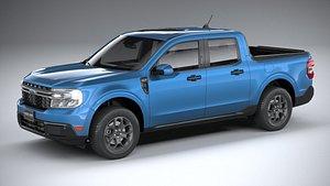 3D Ford Maverick XLT 2022