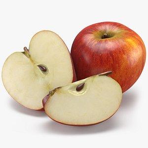 3D Apple Fruit