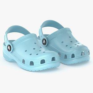 3D model clog classic crocs
