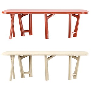 3D ybu table jean model
