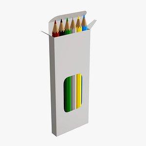 window pencil box 3D model