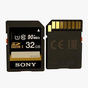 3D SD Card 32 GB