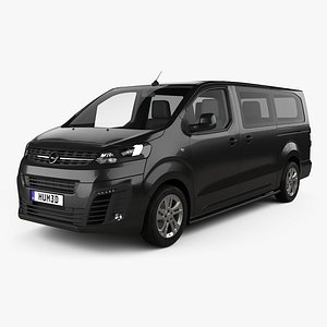 Opel Vivaro Crew Van L3 2019 3D