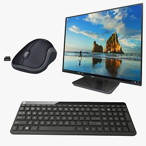 3D lcd keyboard mouse