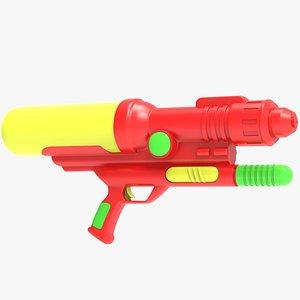 3D model Water Gun Blaster