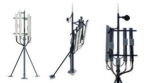Telecommunication Tower 3D model