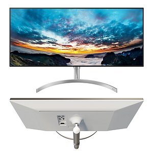 monitor lg ultrawide 3D model