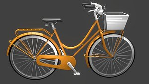 bicycle orange model
